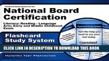 Read Now Flashcard Study System for the National Board Certification Literacy: Reading - Language