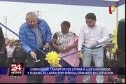 Luis Catañeda y Susana Villarán son citados al Congreso por irregularidades en licitación
