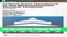 Read Now Critical Care Handbook of the Massachusetts General Hospital Download Book