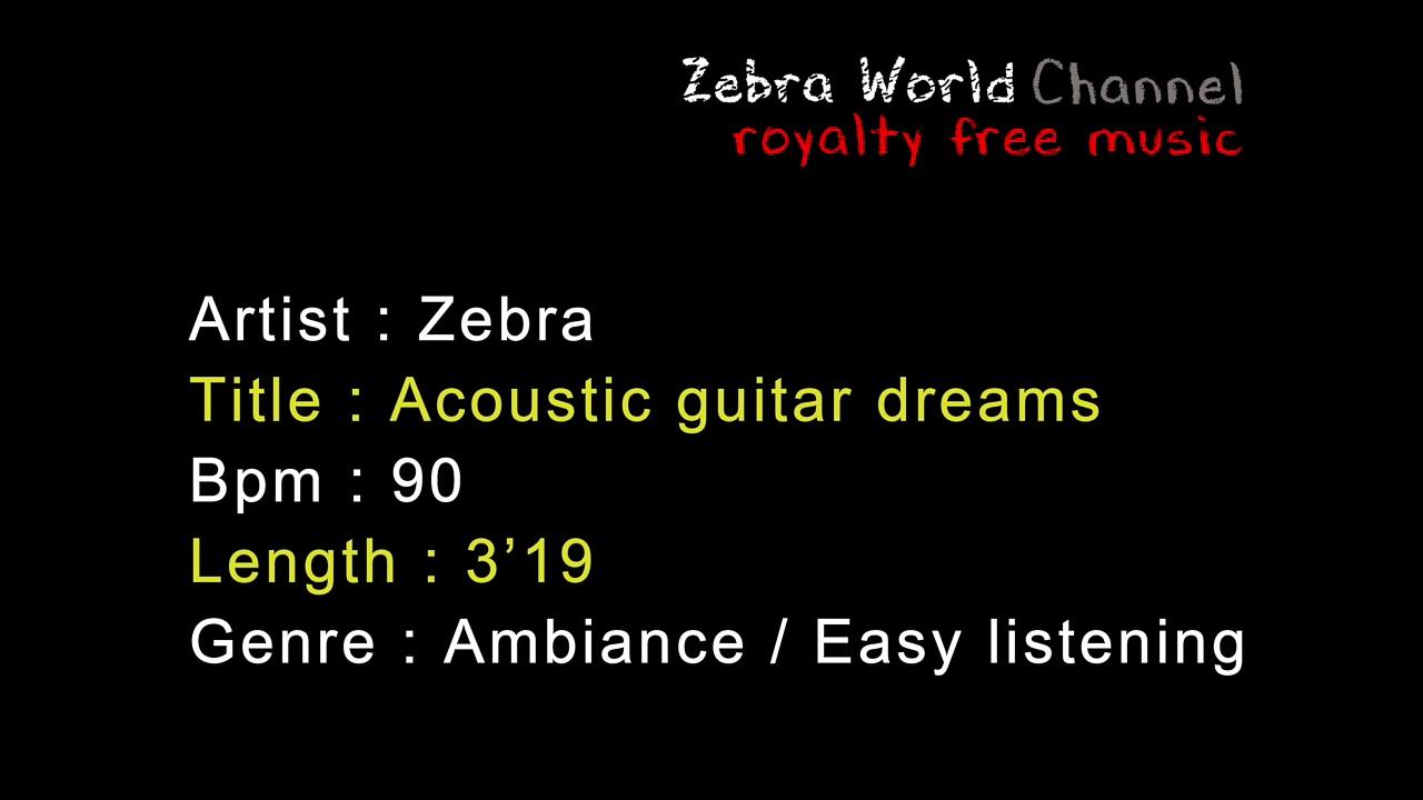 Acoustic guitar dreams