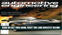 [FREE] EBOOK Automotive Engineering International June 2001 Jaguar XK on Cover, Global Viewpoints:
