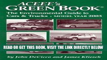 FREE] EBOOK ACEEE s Green Book: The Environmental Guide to