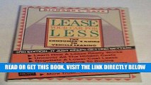 [READ] EBOOK Lease Your Car for Less: The Consumer s Guide to Vehicle Leasing ONLINE COLLECTION