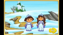 Cartoon game. Dora The explorer - Dora saves the Snow Princess. Full Episodes in English new