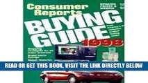 [READ] EBOOK Consumer Reports 1998 Used Car Buying Guide (Annual) BEST COLLECTION