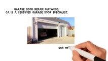 Garage Door Service Company in Maywood CA