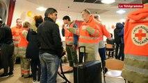 Fouesnant (29). 15 migrants sont arrivés ce mardi soir