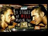 WWE The Bash 2009 - Randy Orton vs Triple H