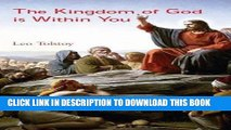 PDF Download] The Kingdom of God is Within You [PDF] Online