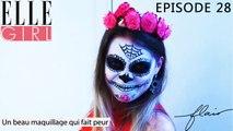 Flair, dénicheur d'idées - Spécial Halloween ! | Episode 28 en exclu sur ELLE Girl, avec Aude Haudelaine, make-up artiste chez Koket