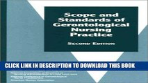 [FREE] EBOOK Scope and Standards of Gerontological Nursing Practice (American Nurses Association)