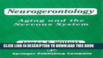 [FREE] EBOOK Neurogerontology: Aging and The Nervous System ONLINE COLLECTION