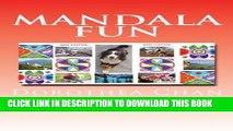 Ebook Mandala Fun MINI EDITION: 50 Mandalas to color for children and adults imparting enjoyment,
