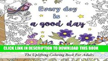 Best Seller Coloring Inspirational Quotes: The Uplifting Square Coloring Book For Adults