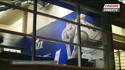 Basket - L'Equipe Enquête : En immersion avec Rudy Gobert