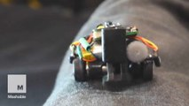 Tiny wearable robots drive around your body, are extra pair of hands