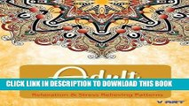 Ebook Adult Coloring Book: Adults Coloring Books, Coloring Books for Adults : Relaxation   Stress