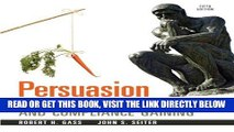 [FREE] EBOOK Persuasion: Social Influence and Compliance Gaining, 5e BEST COLLECTION