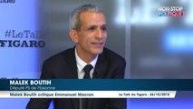 """Malek Boutih sur Macron """"C'est quelqu'un à qui je confierais mon argent mais pas mon pays"""""""