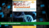 Big Deals  Criminal Investigation (text only) 6th (Sixth) edition by J. W. Osterburg,R. H. Ward