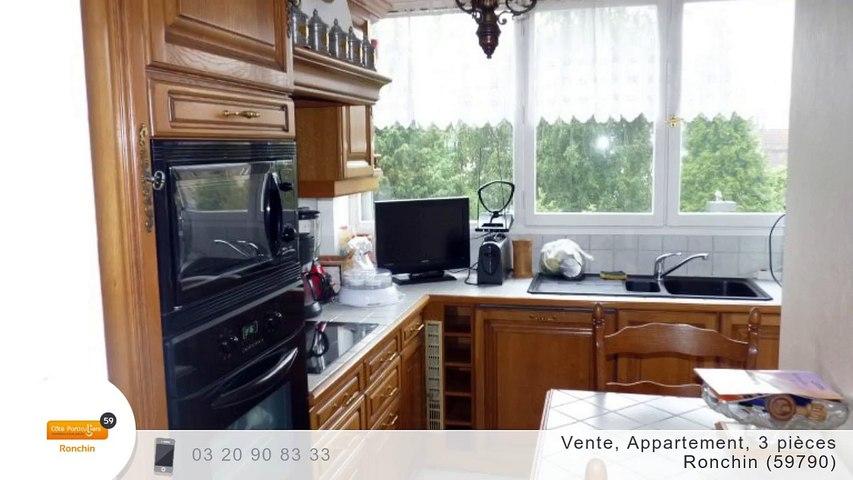 A vendre - Appartement - Ronchin (59790) - 3 pièces - 78m²