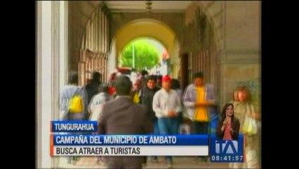 Campaña del municipio de Ambato busca atraer a turistas