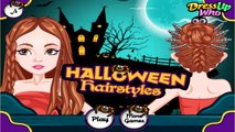 Halloween Hairstyles- Free Online Fashion Hairstyle Games for Girls Kids Teens
