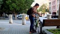 Cet antivol fait vomir les voleurs de vélos - SkunkLock
