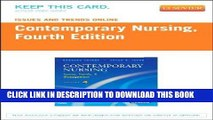 [FREE] EBOOK Issues and Trends Online for Contemporary Nursing (Access Code): Issues, Trends and