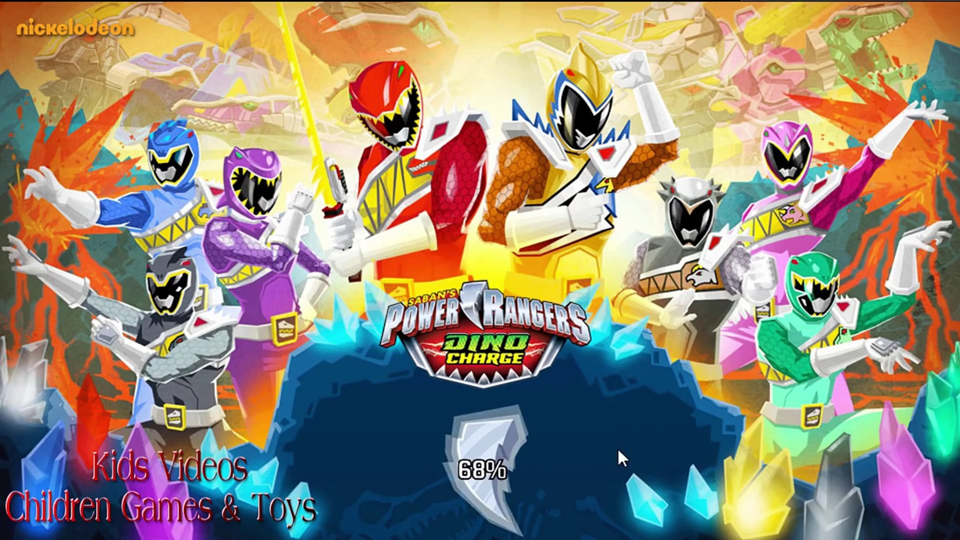 Power Rangers Dino Charge Unleash The Power 2 Power Rangers All Bosses Defeated Nickelodeon Games
