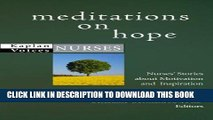 [READ] EBOOK Meditations on Hope: Nurses  Stories about Motivation and Inspiration (Kaplan Voices)