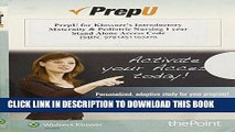 [FREE] EBOOK PrepU for Klossner s Introductory Maternity   Pediatric Nursing BEST COLLECTION