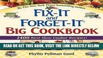 [READ] EBOOK Fix-It and Forget-It Big Cookbook: 1400 Best Slow Cooker Recipes! ONLINE COLLECTION
