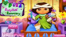 Cartoon game. Dora The Explorer - Dora Hospital Recovery. Full Episodes in English 2016