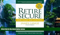 Big Deals  Retire Secure!: For Same-Sex Couples  Full Ebooks Most Wanted
