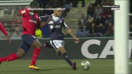 Incroyable but de Ounas contre Chateauroux en Coupe de la Ligue