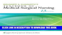 [READ] EBOOK Hinkle 13e Text; plus LWW DocuCare One-Year Access Package BEST COLLECTION