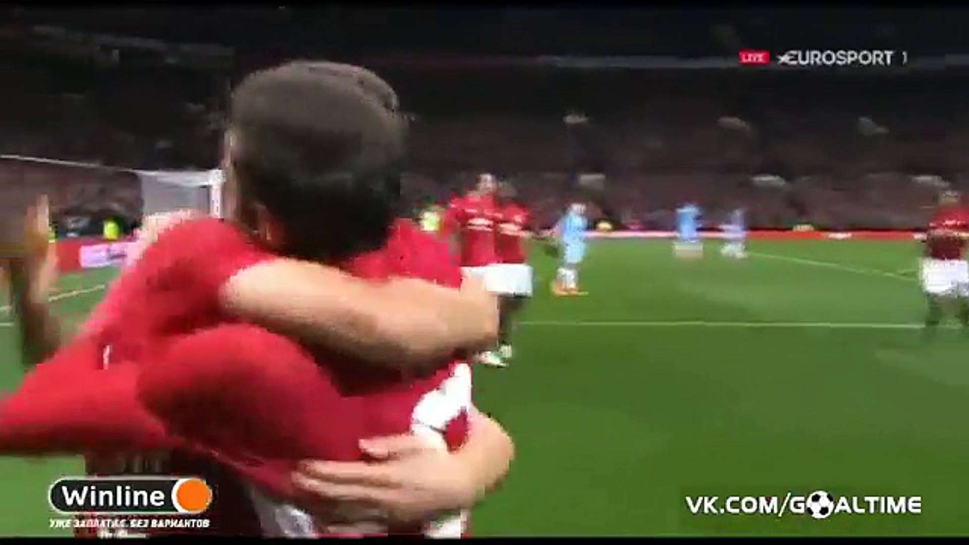 1-0 Juan Mata Goal HD - Manchester United 1-0 Manchester City - 26.10.2016 HD