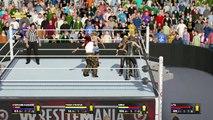 WWE 2K17 | Stephanie McMahon vs. Trish Stratus vs. Emma vs. Lita