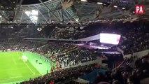 fight between west ham & chelsea fans ( West ham 2 -1 Chelsea 26.10.2016 - ENGLAND: EFL Cup  )