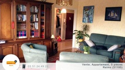 A vendre - Appartement - Reims (51100) - 5 pièces - 110m²