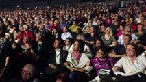 Hier soir, j'ėtais dans la fosse, super concert, superbe ambiance et superbe Pascal