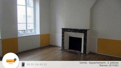 A vendre - Appartement - Reims (51100) - 2 pièces - 40m²