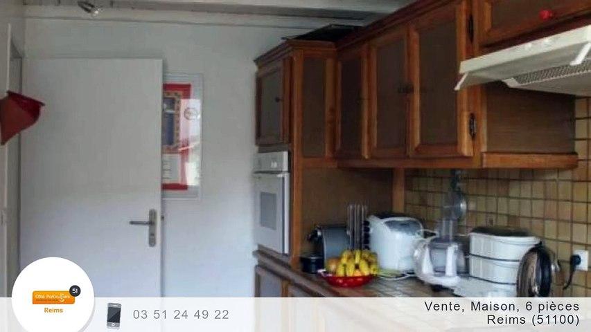 A vendre - Maison/villa - Reims (51100) - 6 pièces - 150m²