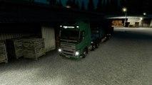 Euro Truck Simulator 2 Trucking Diary #3 Sawdust Panel Transport To Strasbourg VOLVO Truck
