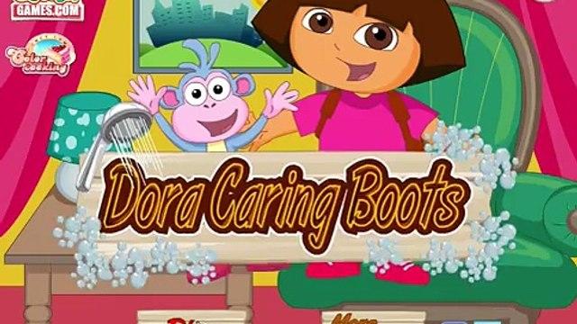 Dora Caring Boots Game   Dora and Boots   Dora the Explorer Kids Games