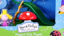 Play Doh Ben and Hollys Little Kingdom Magical Slide with Peppa Pig and Bubble Guppies Toy Episode