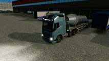 Euro Truck Simulator 2 Trucking Diary #5 Ventilation Shaft To Dusseldorf VOLVO Truck