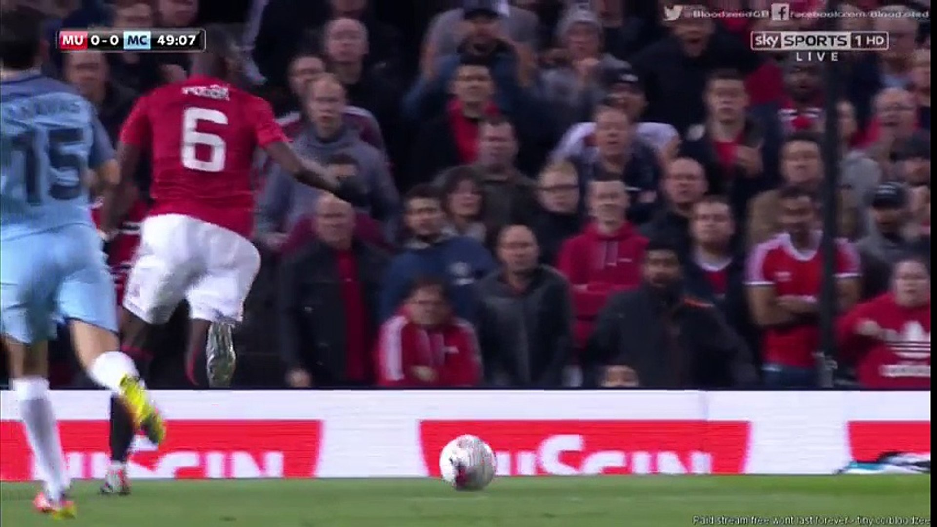 [Highlight] Manchester United 1 - 0 Manchester City : ENGLISH CAPITAL ONE CUP 2016-2017