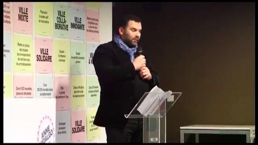 Sylvain Guy, Génération Ecologie, soutient Anne Hidalgo et Thomas Lauret